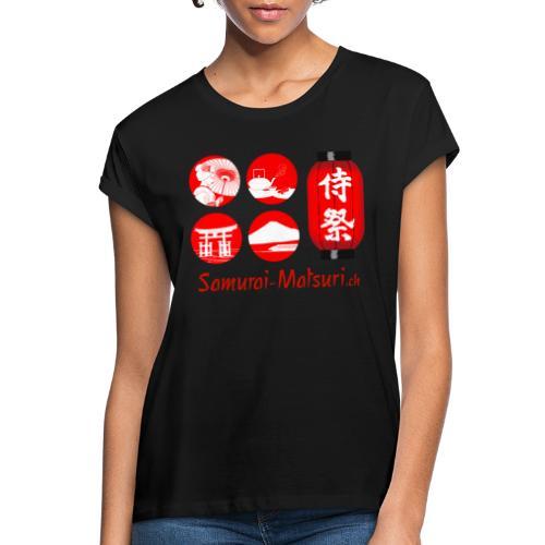 Samurai Matsuri Festival - Frauen Oversize T-Shirt