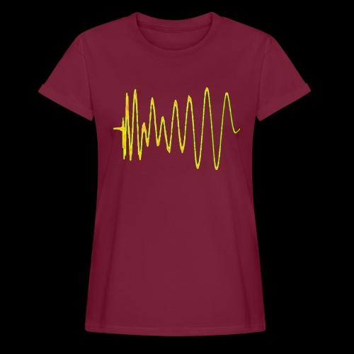 Boom 909 Drum Wave - Women's Oversize T-Shirt