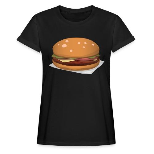 hamburger-576419 - Maglietta ampia da donna