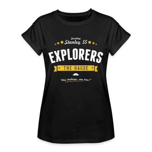 Explorershirt - Vrouwen oversize T-shirt