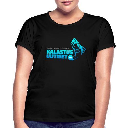 Kalastusuutiset - Naisten oversized-t-paita