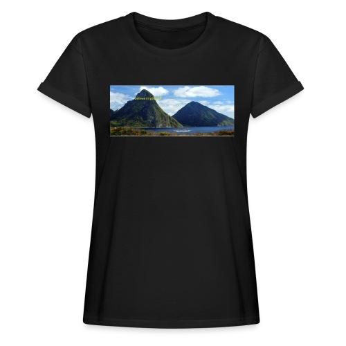 believe in yourself - Women's Oversize T-Shirt