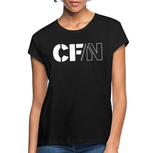 CFN White Grey - Oversize-T-shirt dam