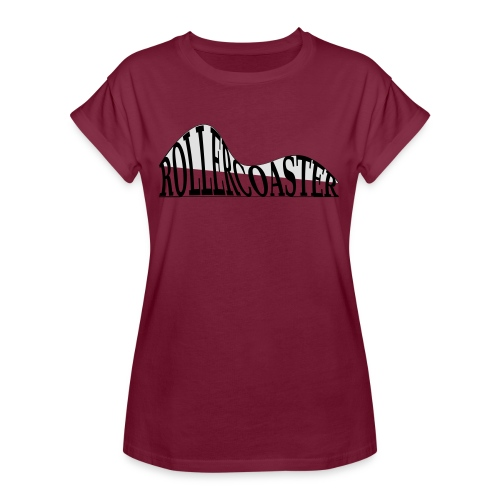 envelope_coaster - Dame oversize T-shirt
