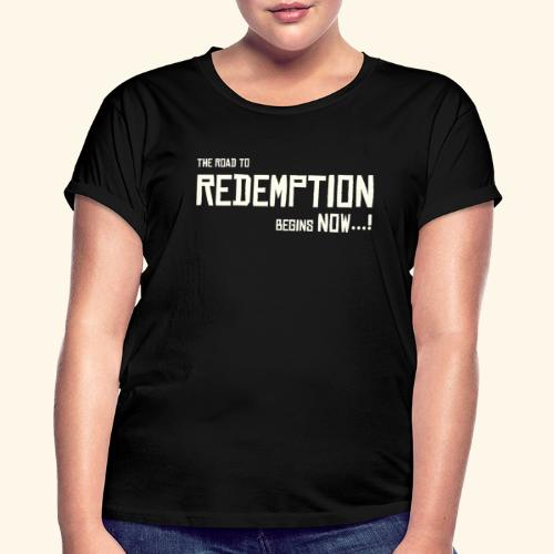 Wild West Game Text Design - Women's Oversize T-Shirt