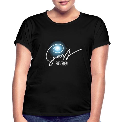 Gast auf Erden - Frauen Oversize T-Shirt