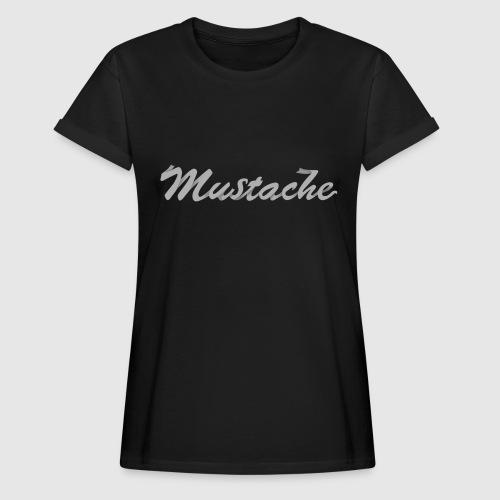 White Lettering - Women's Oversize T-Shirt