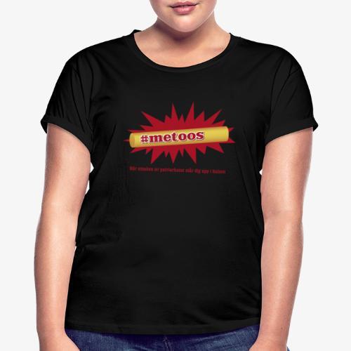 #metoos - Oversize-T-shirt dam