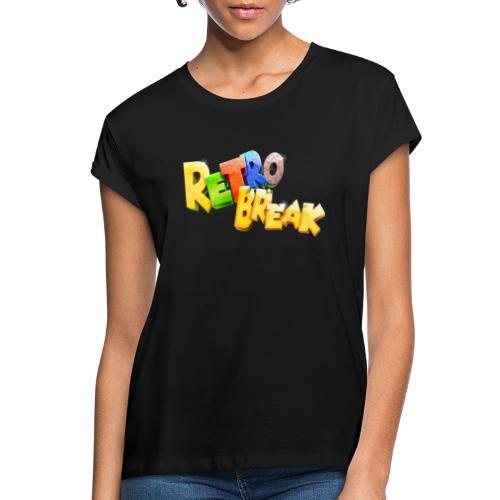 RetroBreak Logo - Women's Oversize T-Shirt