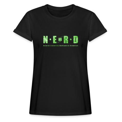 NERD Green - Dame oversize T-shirt