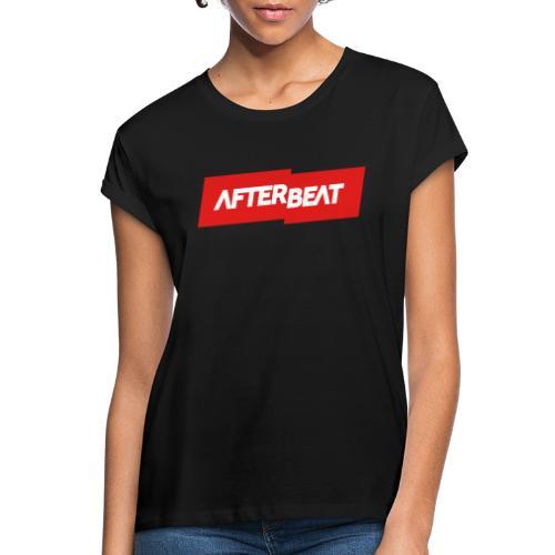 Afterbeat LOGO Merchandise - Women's Oversize T-Shirt
