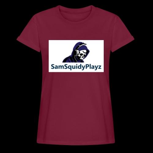 SamSquidyplayz skeleton - Women's Oversize T-Shirt
