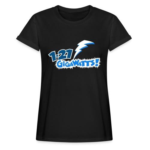 1.21 Gigawatts - Women's Oversize T-Shirt