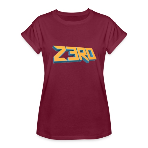 The Z3R0 Shirt - Women's Oversize T-Shirt