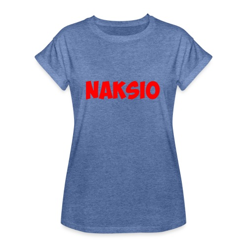 T-shirt NAKSIO - T-shirt oversize Femme