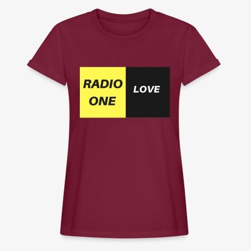 RADIO ONE LOVE - T-shirt oversize Femme
