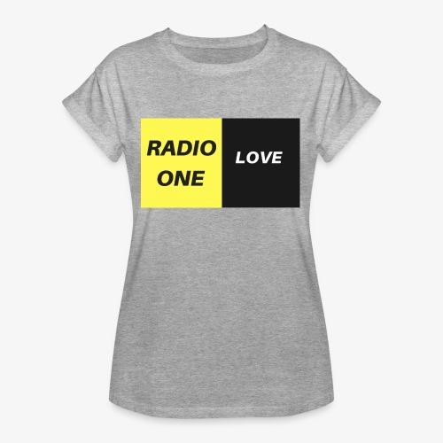 RADIO ONE LOVE - T-shirt oversize Femme
