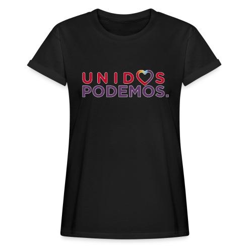 Taza Unidos Podemos 2016 Blanca - Camiseta holgada de mujer