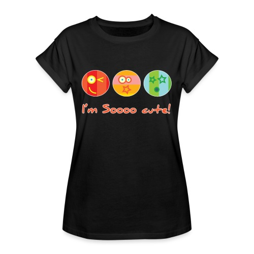 Sooo Cute - Vrouwen oversize T-shirt
