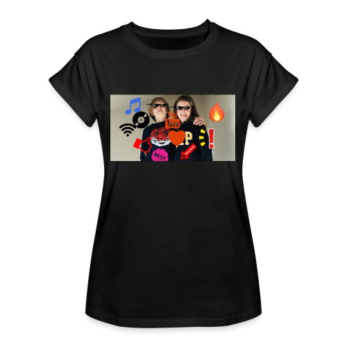 Coolrockskingen och Jojo - Oversize-T-shirt dam