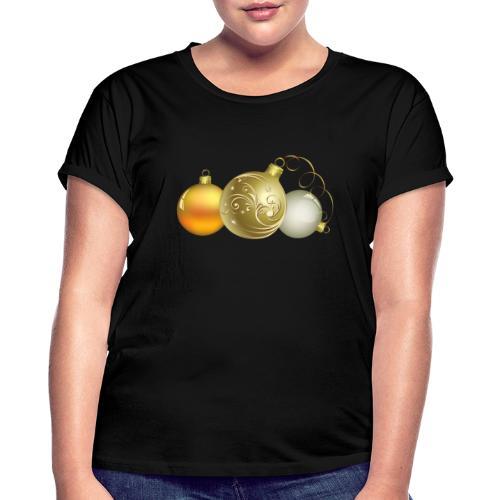 Christmas Ball Decor - Camiseta holgada de mujer