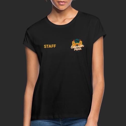 EURASIEN PARK Staff Supply - Frauen Oversize T-Shirt
