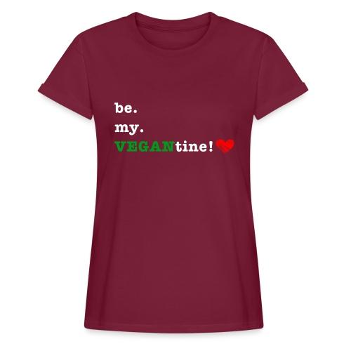 be my VEGANtine - white - Women's Oversize T-Shirt