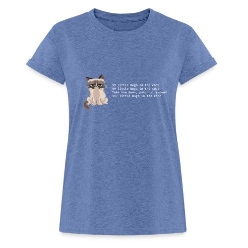 99bugs - white - Vrouwen oversize T-shirt