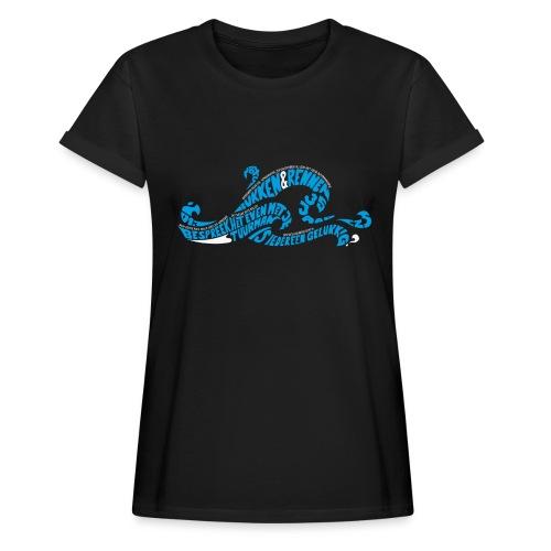 EZS T shirt 2013 Front - Vrouwen oversize T-shirt