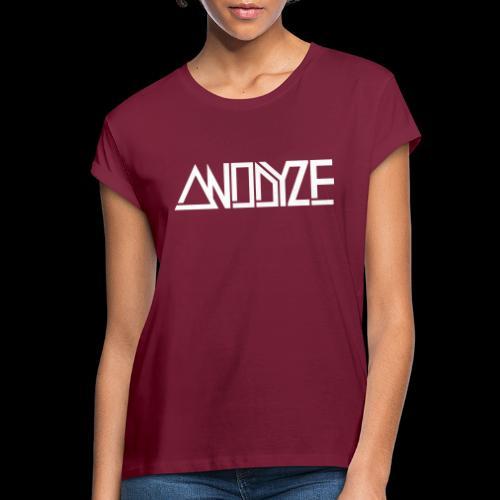 ANODYZE Standard - Frauen Oversize T-Shirt