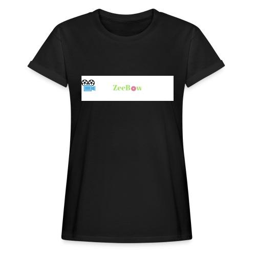 T-Shirt - Dame oversize T-shirt