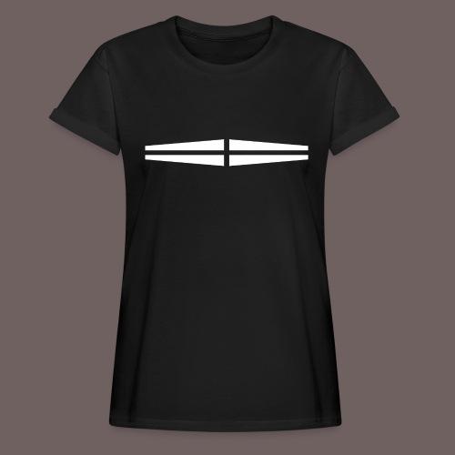 GBIGBO zjebeezjeboo - Rock - Traversant Blanc - T-shirt oversize Femme