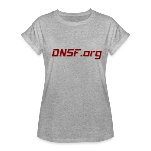 DNSF t-paita - Naisten oversized-t-paita