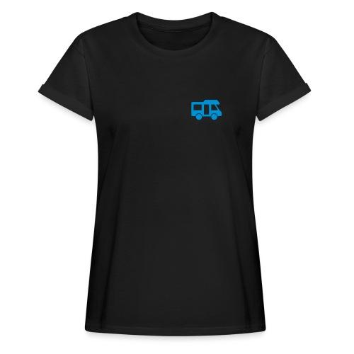 Camper logo by eland apps - Women's Oversize T-Shirt