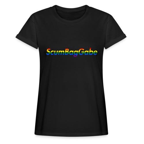 ScumBagGabe Multi Logo XL - Women's Oversize T-Shirt