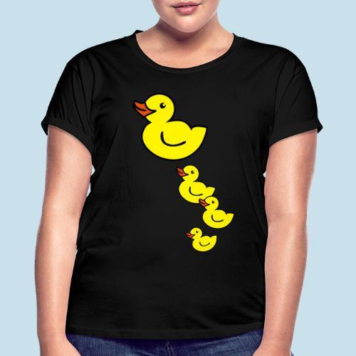 Ente - Frauen Oversize T-Shirt
