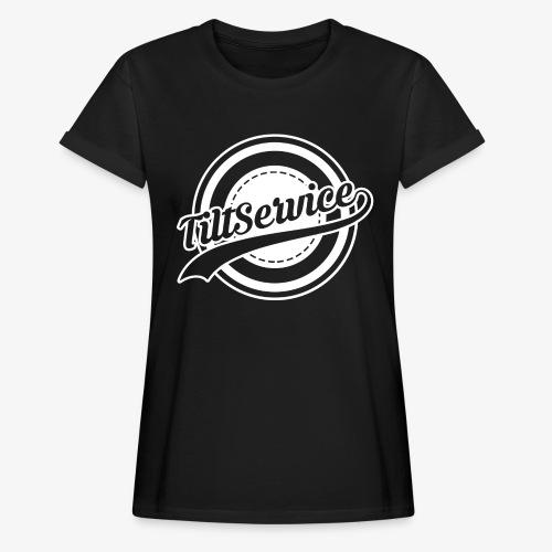 Tiltservice Logo - Oversize-T-shirt dam