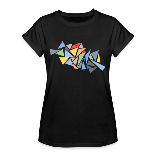 Modern Triangles - Women's Oversize T-Shirt