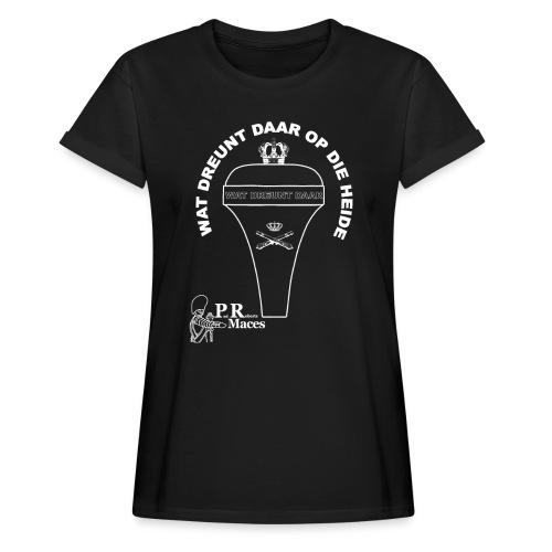 PR NL artillerie - Vrouwen oversize T-shirt