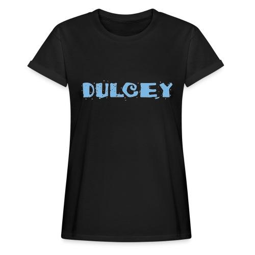 dulcey logo - Frauen Oversize T-Shirt