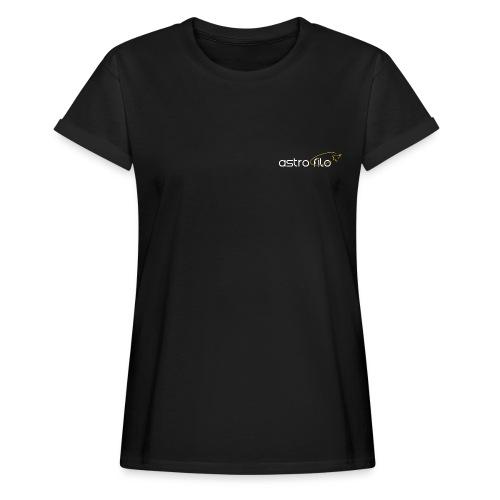 Astro_filo Bianco - Maglietta ampia da donna