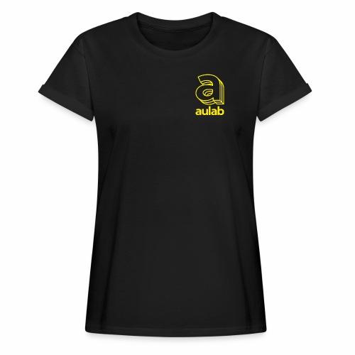 Marchio aulab giallo - Maglietta ampia da donna