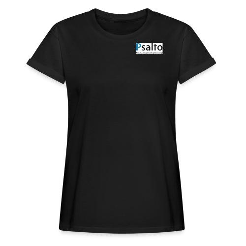 Psalto svblå KDGS rediger - Oversize-T-shirt dam