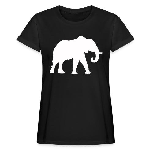 Larry Fitzpatrick X Proboscidea - Frauen Oversize T-Shirt