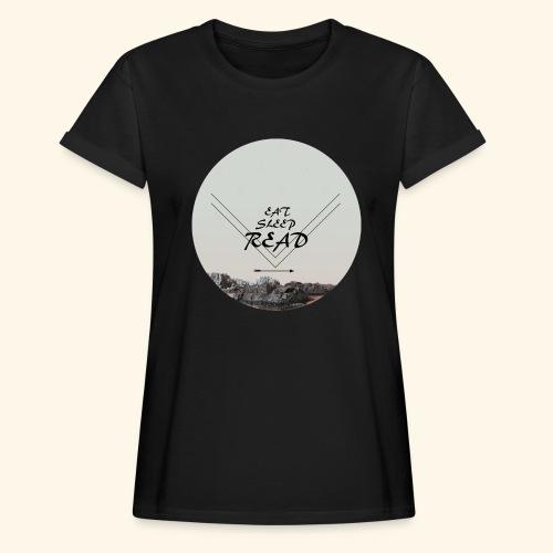 Eat, Sleep, Read - Oversize-T-shirt dam