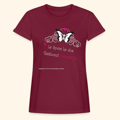 Testimoni Nozze - Maglietta ampia da donna