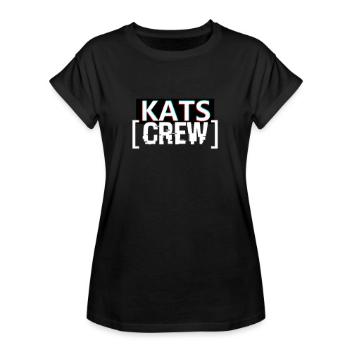 KATS CREW Logo - Koszulka damska oversize