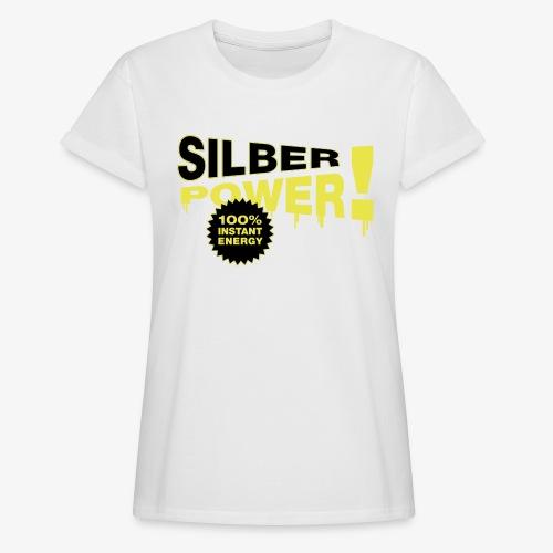 SilberPower! - Dame oversize T-shirt