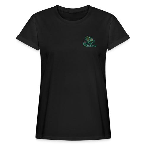 Alebrije Armadillo Turquise - Frauen Oversize T-Shirt