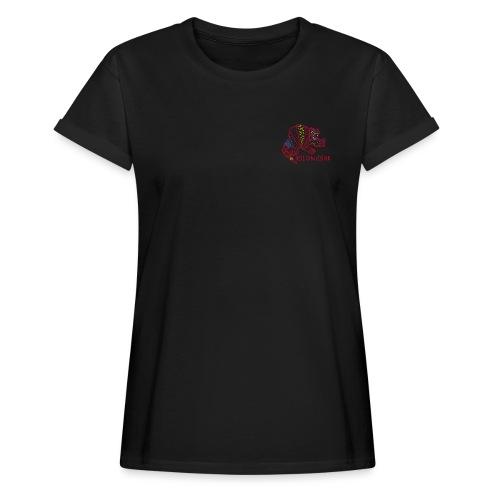 Alebrije Armadillo Red - Frauen Oversize T-Shirt